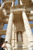efes图书馆 免版税图库摄影