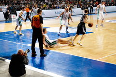 Efes Pilsen vs Montepaschi Siena Royalty Free Stock Photography