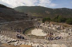 EFES/TURKEY το θέατρο Ephesus στοκ εικόνες