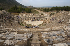 EFES/TURKEY Theatre Ephesus Zdjęcia Royalty Free