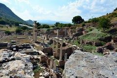 Efesus Efes废墟,土耳其 免版税库存照片