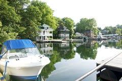 Efeu-Schulamt - die tausend Inseln, Ontario Lizenzfreies Stockfoto
