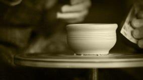 EFF di film delle mani dei vasai vecchio archivi video