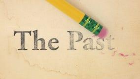 Effacement du passé Photos libres de droits