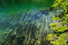 effacez l'eau de montagne photographie stock libre de droits