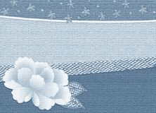 Effect kimono background Royalty Free Stock Photo