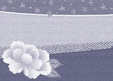 Effect kimono background  with flower Stock Photos