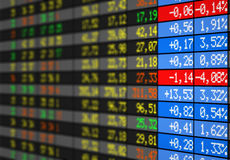 Effectenbeurs Stock Foto's
