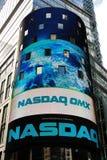 Effectenbeurs NASDAQ Royalty-vrije Stock Foto