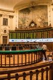 Effectenbeurs van Santiago, Chili royalty-vrije stock afbeelding