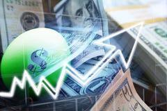 Effectenbeursinvesteringen het Groeien stock fotografie