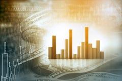 Effectenbeursrapport Royalty-vrije Stock Foto's