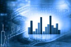 Effectenbeursrapport Stock Fotografie