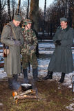 Effectifs militaires allemands. Image stock