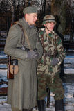 Effectifs militaires allemands. Photo stock