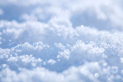 Effective blue snow background Royalty Free Stock Photo