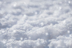 Effective blue snow background Royalty Free Stock Image