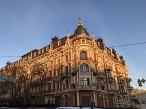 The Renaissance Hotel in Kiev -- UKRAINE -- EUROPE. Effective interior architectural design can bring more than just pleasing and stylish elements to a major royalty free stock images