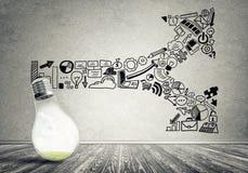 Effective marketing ideas Royalty Free Stock Photography