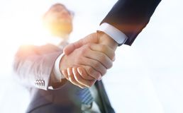 Effective negotiation with client. Business concept photo. Royalty Free Stock Photos