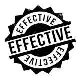 Effective rubber stamp Royalty Free Stock Image