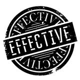Effective rubber stamp Royalty Free Stock Photography