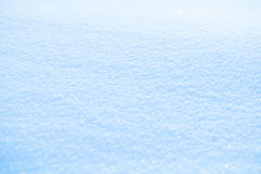 Effective sky blue snow background Stock Photo