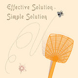 Effective solution - simple solution Stock Images