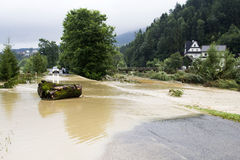 Effects of flooding Stock Images
