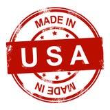 Effectué dans l'estampille des Etats-Unis Photo libre de droits