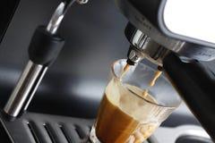 effectuer de café express Images libres de droits