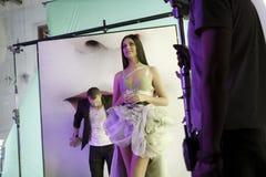 Effectuer de clip d'Oksana Fedorova Photo libre de droits