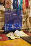 Effectuer de tapis de Berber Photographie stock libre de droits