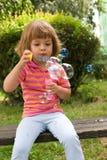 Effectuer des bulles Photographie stock libre de droits