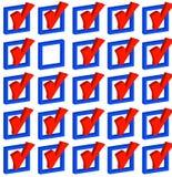 Effectuer des choix Image libre de droits