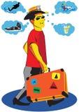 Effectuer des vacances prévoit Photos libres de droits