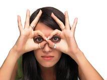 Effectuer des visages Photo stock