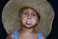Effectuer des visages Image stock