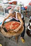 Effectuer effectué à la maison chinois de sauce à s/poivron Photographie stock libre de droits