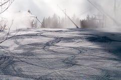 Effectuer la neige Image libre de droits