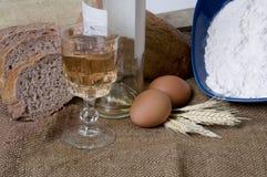 Effectuer la série de pain Image libre de droits