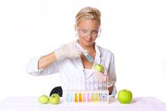 Effectuer la science. Image stock