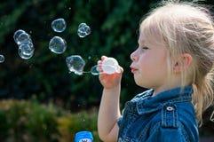Effectuer Nice les bulles photographie stock libre de droits