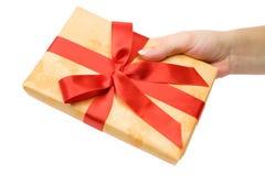 Effectuer un cadeau Photo stock