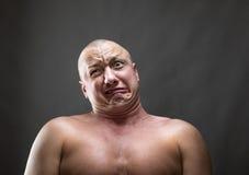 Effectuer un visage Photographie stock libre de droits