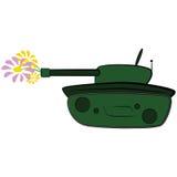 Effectuez la paix, pas guerre illustration de vecteur
