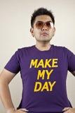 Effectuez mon jour Photo libre de droits
