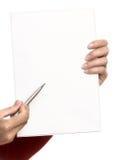 Effectuez vos notes Photos libres de droits