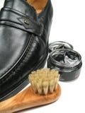 Effectuez votre éclat de chaussures photo libre de droits