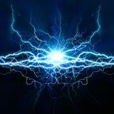 Effekt för elektrisk belysning Royaltyfria Foton